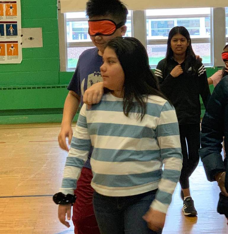 Students Learn What Living With A Disability is Like At Grant's Fourth Annual Disabilities Awareness Day
