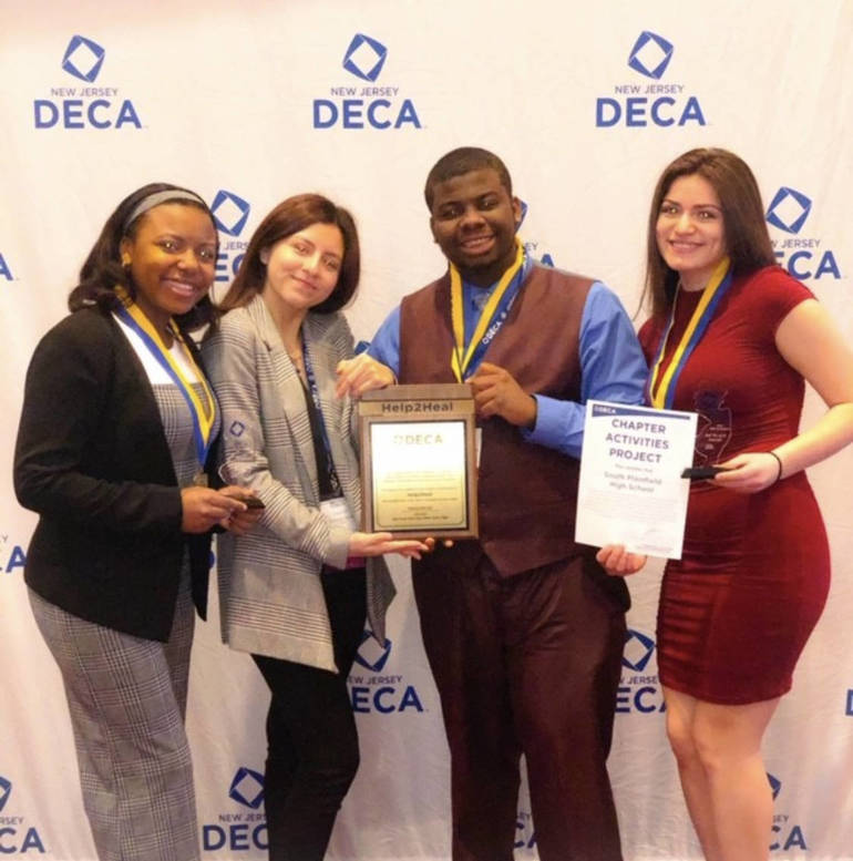 South Plainfield High School DECA Students Achieve Honors at Annual Atlantic City Competition