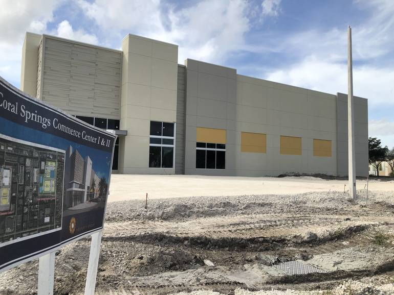 New Buildings To Add Jobs and Tax Revenue At Coral Springs Corporate Park