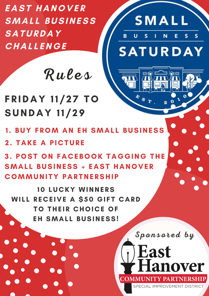 East Hanover Small Business Challenge on Saturday