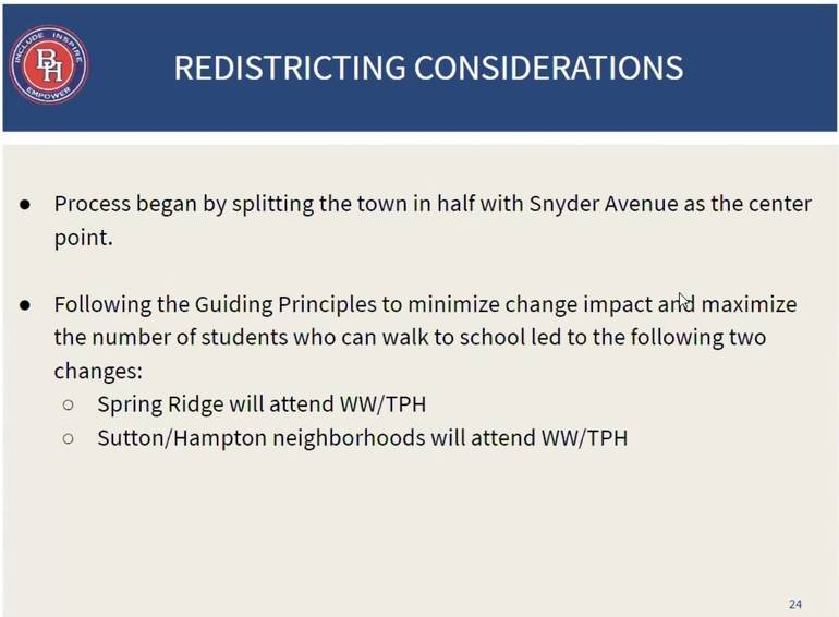 Town Hall is Wednesday on Redistricting Proposal; Here Are Details