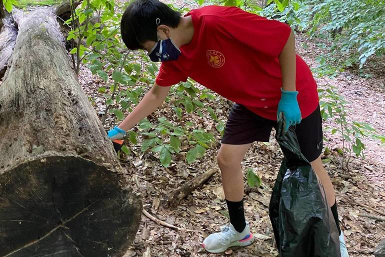 Summit Troop 67 Scouts Celebrate Belated Earth Day with Pair of Service Projects