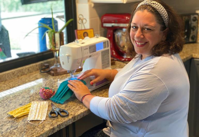 Coral Springs Mom Turns Garage Into Mask-Making Business To Help Others