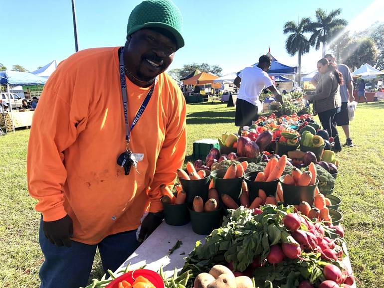 Morning at Coral Springs Farmers' Market: Plenty of Pickles and Produce