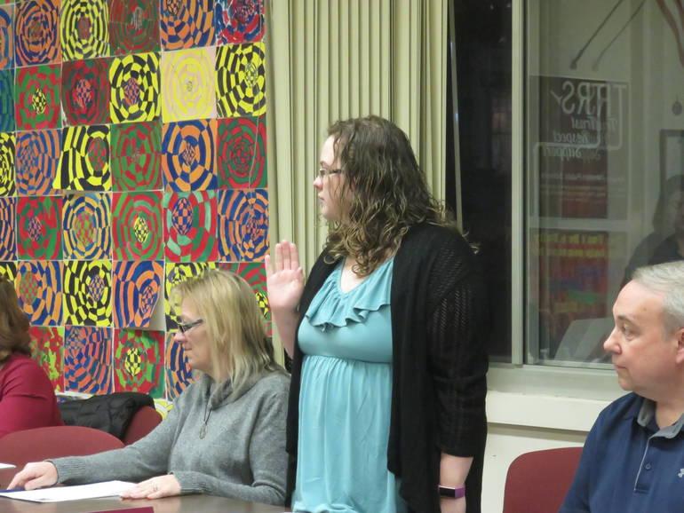 Five Members Sworn in at Annual Newton Board of Education Reorganization Meeting