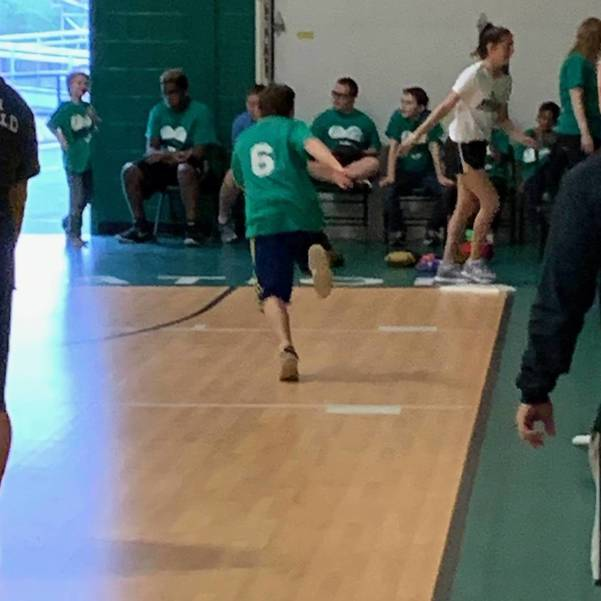 South Plainfield Firefighters and Policemen Play Buddy Ball Baseball Team