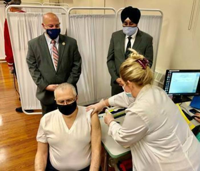 With Vaccine Supply Exhausted, Hoboken Looks to Feds