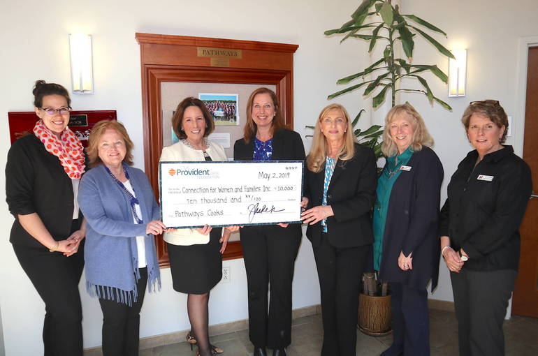 Pathways at The Connection Receives $10,000 Grant Supporting Pathways Cooks