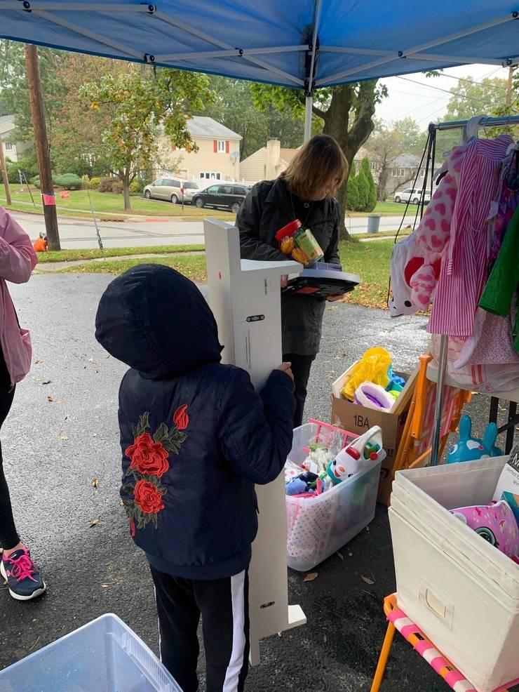 Fair Lawn First Grader's Garage Sale Raises $1,000 for Her School