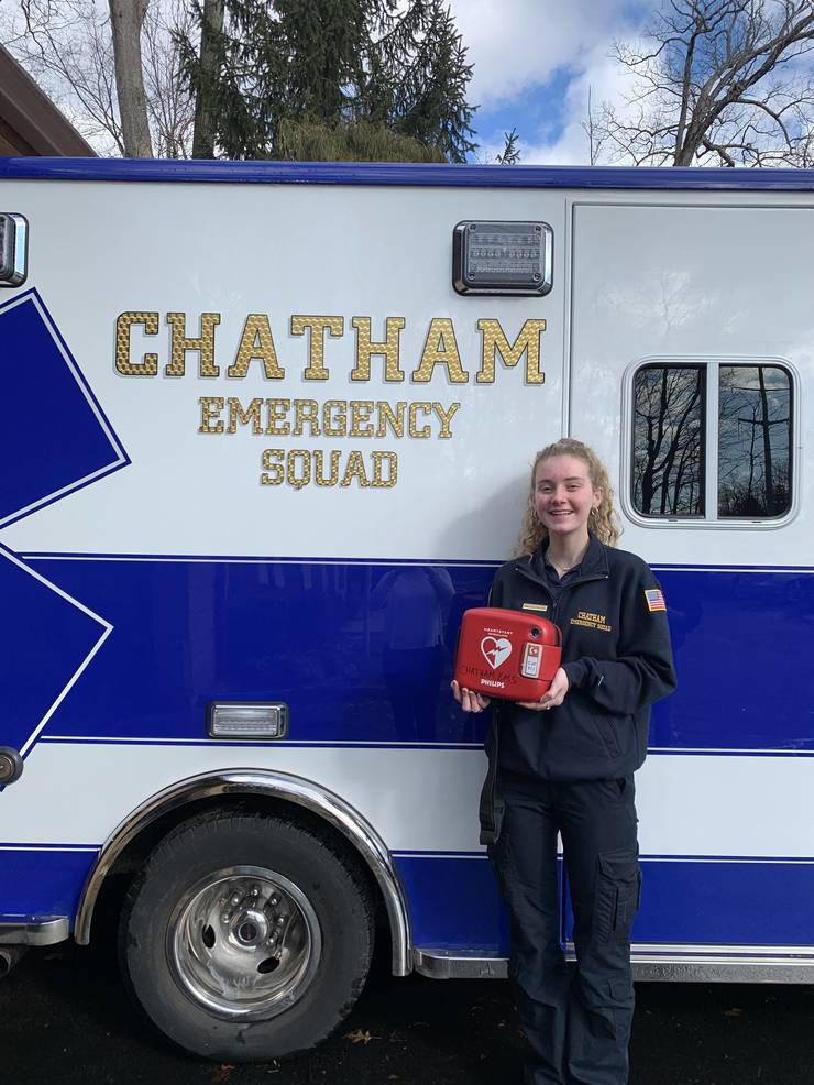 Chatham Girl Scout Calls on Community's Help to Map Locations of AEDs Throughout Chatham