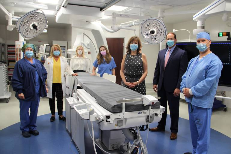 Atlantic Health System's Hackettstown Medical Center Opens New Hybrid Operating Room