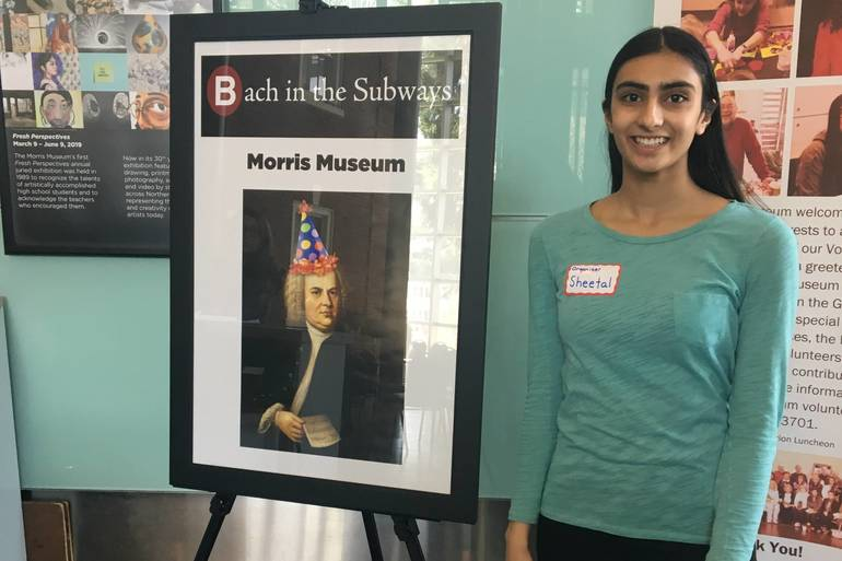 Morristown Student Sheetal Bangalore Brings Bach to Life During Free Event