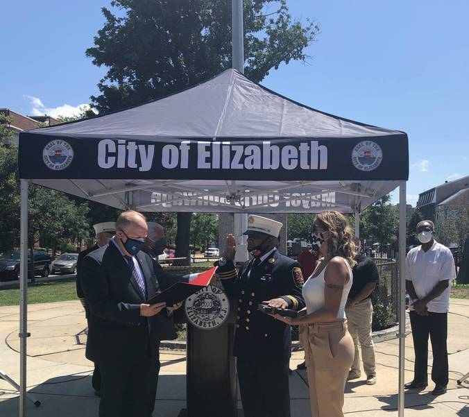 Elizabeth Fire Department Gets First African American Chief