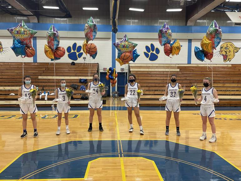 Basketball: Daughter Defeats Dad as Cranford Rolls Roselle Catholic on Senior Night