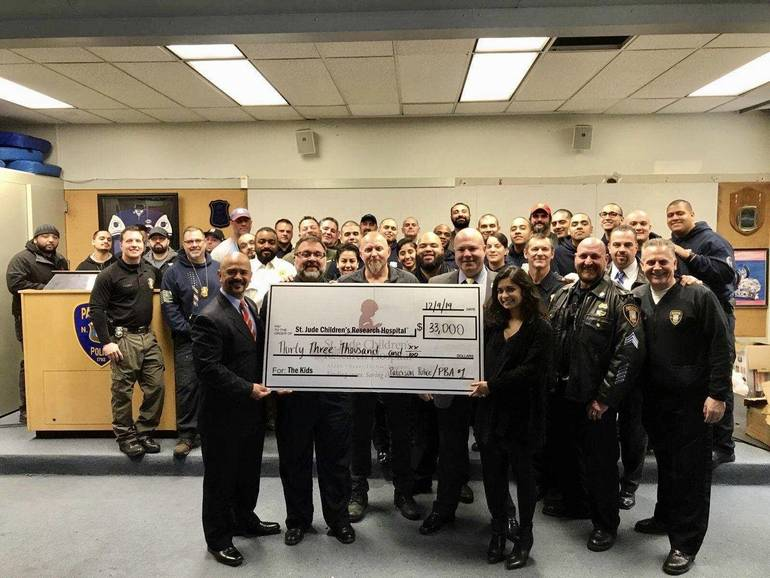 Paterson Police Go Scruffy, Raise $33,000 for Children's Cancer Research and Care
