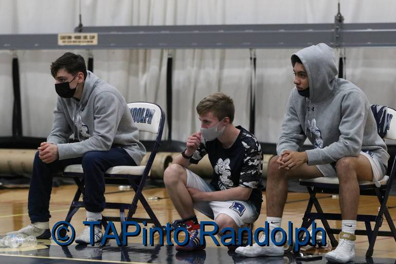 Randolph Wrestling Works Hard to Overcome Covid Challenges in 2021 Season