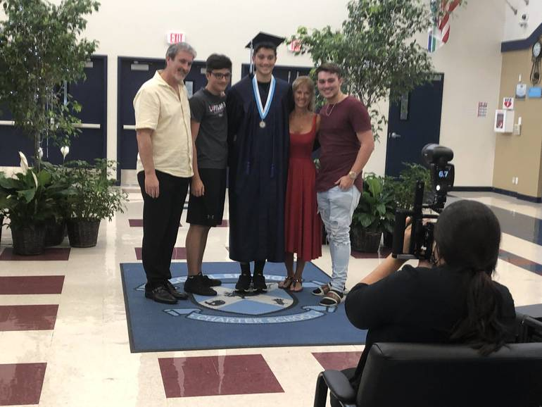 Coral Springs Charter Seniors Got A Traditional Graduation With Coronavirus Limits