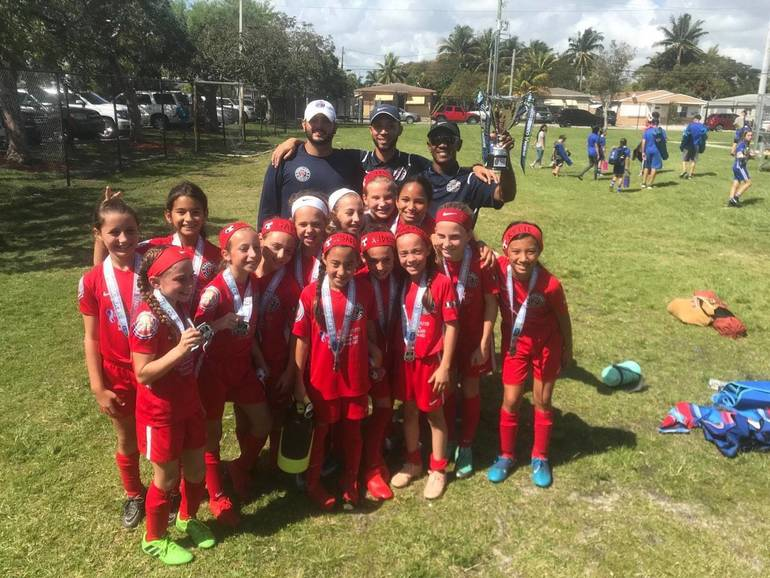 Parkland Girls 2008 White Win Regional and Move onto to State Final Four