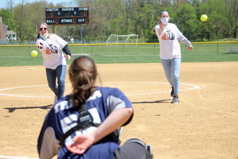 Softball Community Honors Middletown Teacher at Rick Unterstein Invitational