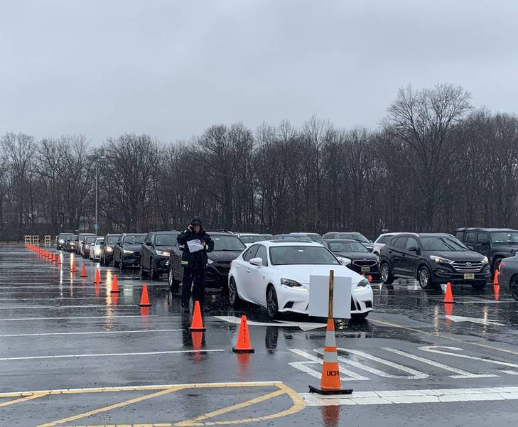 120 Tested on First Day of COVID-19 Testing at Kean University