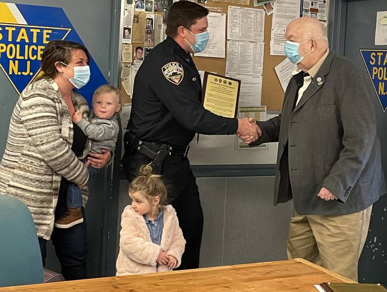 The 200 Club of Sussex County Honors Three Officers