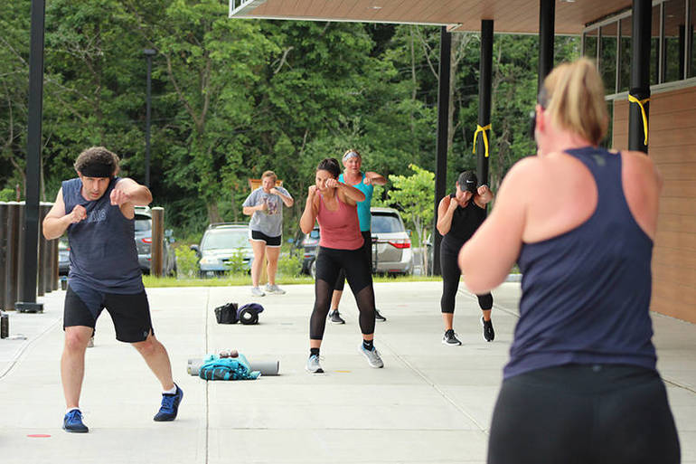 LesMills Body Combat Outdoor Group Exercise
