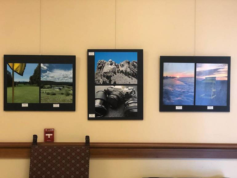 Livingston High School Student Perspectives Art Show Now on Display at Town Hall