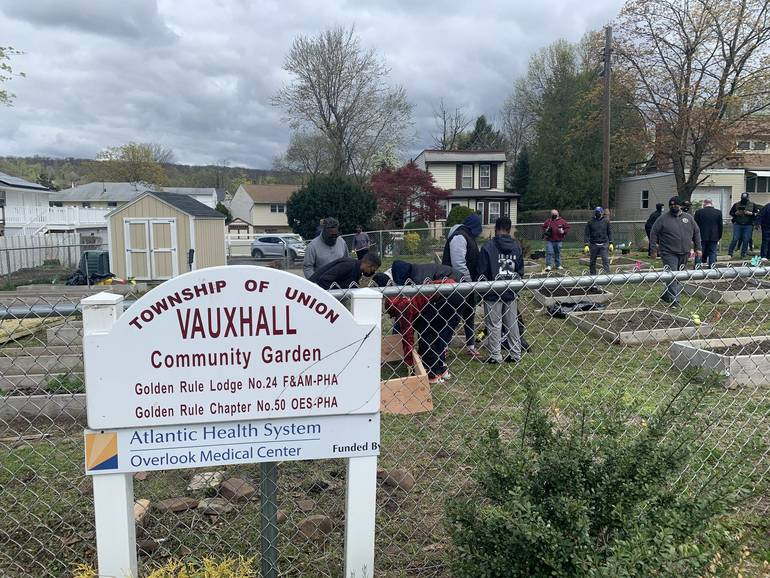 Vauxhall Community Garden Teaches Young Men Essentials of Gardening
