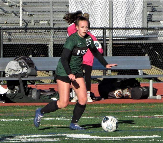 Girls Soccer Player Abbie McCrea Named Valairco Heating & Cooling Ridge Athlete of the Week