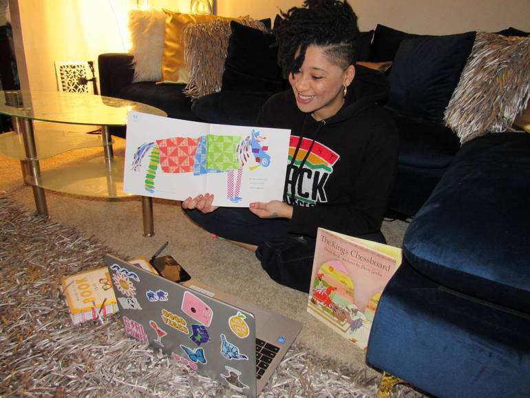 'The Hoodbrarian' Shares Good Literary Vibes With Camden Kids and Adults