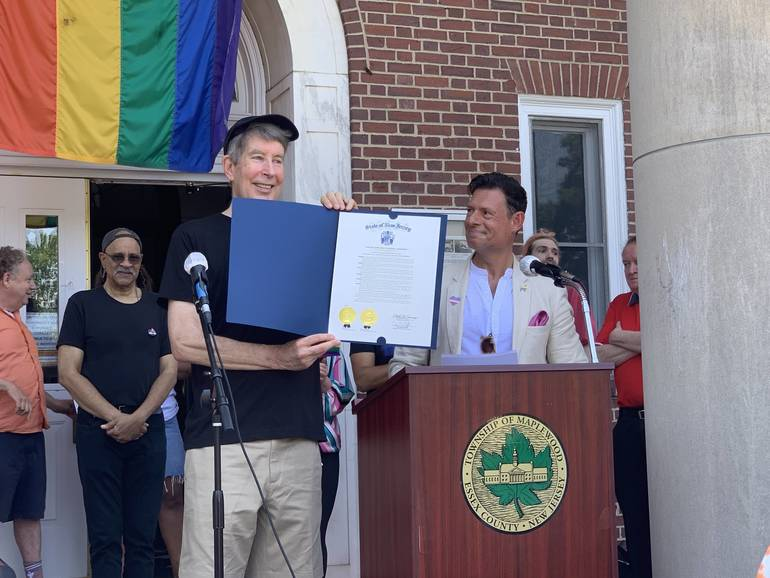 Advocate Steve Mershon Honored at SOMA's Equality March 2021
