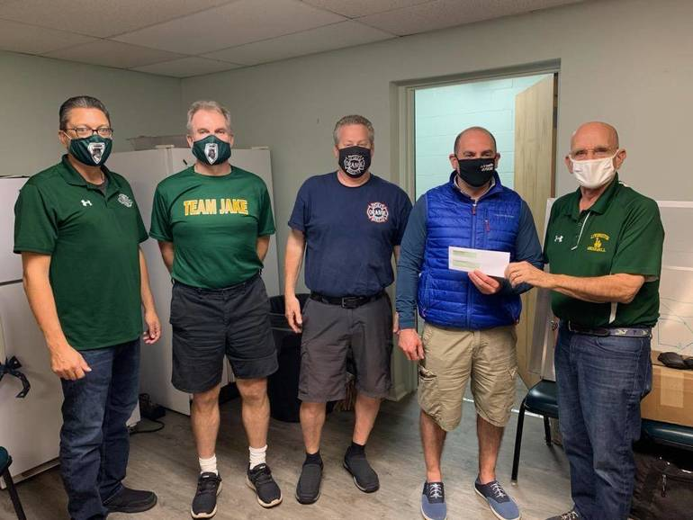 Livingston Little League Presents $5,000 to Kestler Family for Pediatric Cancer Research