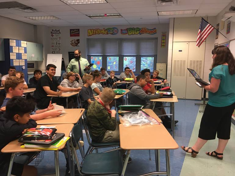 Sparta Middle School Book Chat