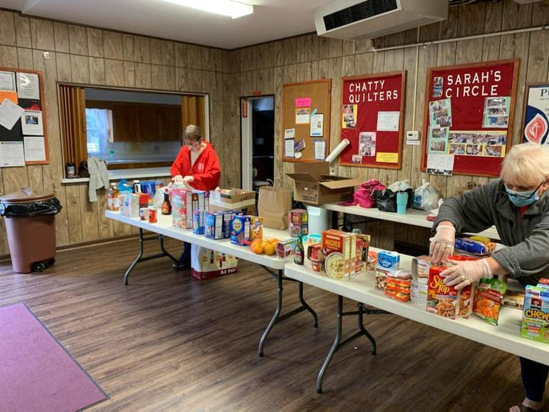 Churches Put Together a Successful Food Drive: Giving Back