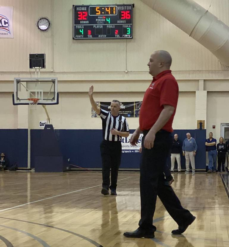 Coach Mike Falco