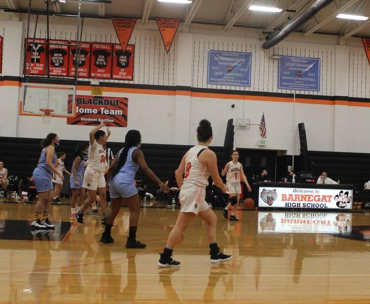 Barnegat Girls Basketball Gets By Asbury Park 42-14 In Postseason Play