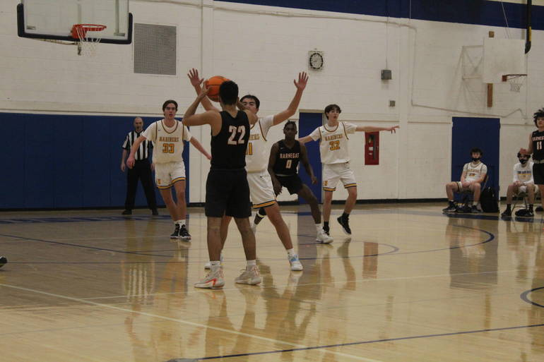 Barnegat Boys Basketball Comes Up Short In Shore Conference Tournament Loss To Toms River North