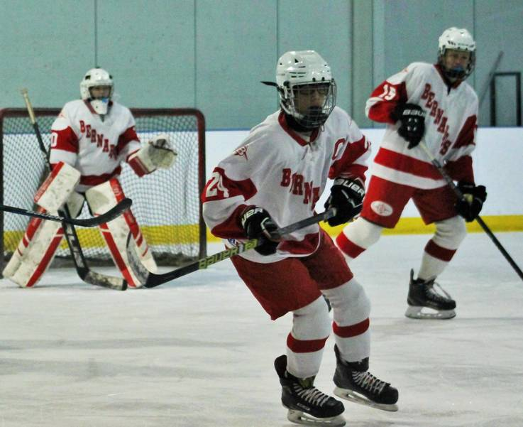 Ice Hockey: Hillsborough Beats Bernards, 5-3