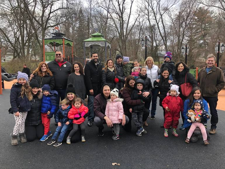 Mindowaskin Park Playground Ribbon Cutting