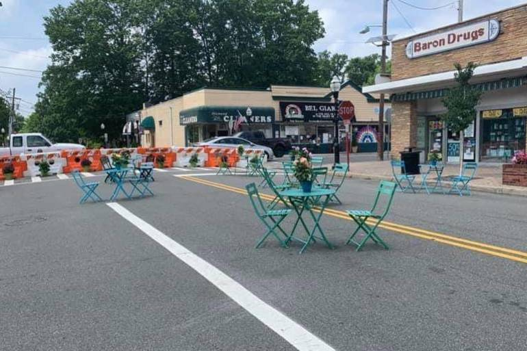 Parklets Poised to Return to Downtown Cranford