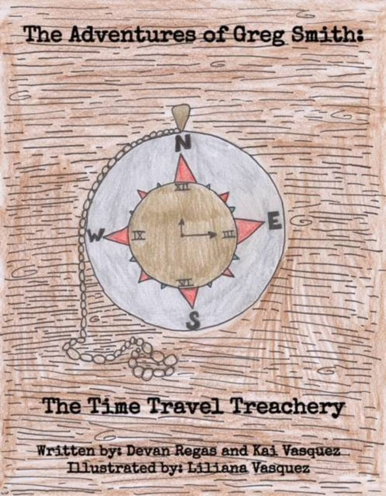 Three Westfield 11-Year-Olds Author Time Travel Adventure Novel