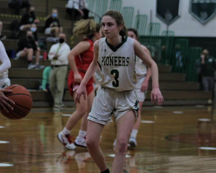 Girls Basketball Player Grace Kinum is Named Joe Eberle Weichert Realtors Pioneer Athlete of the Week