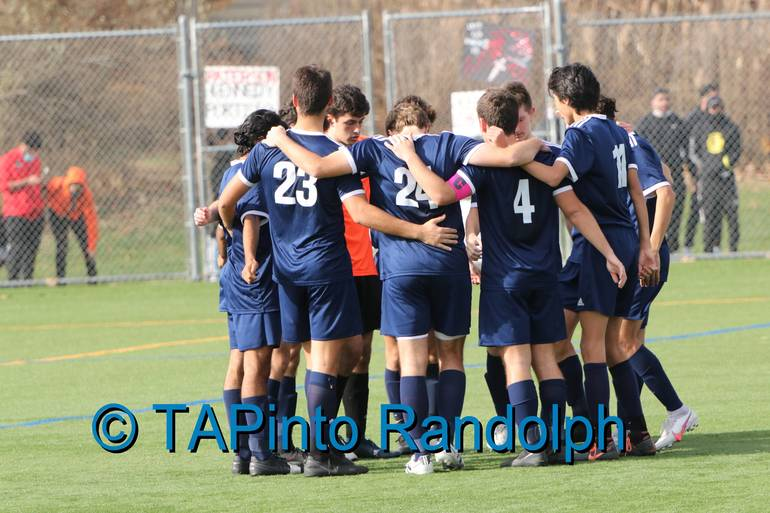Randolph Boys Soccer Knocks Off Paterson Kennedy to Claim State Sectional Title