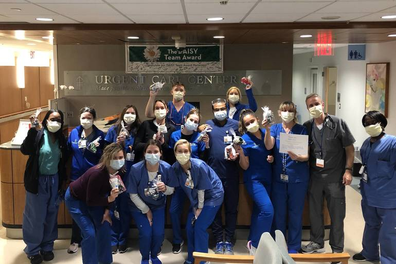 Appreciative Health Care Workers