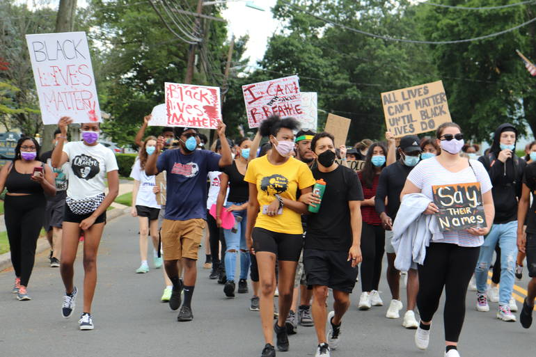 Juneteenth March Through South Plainfield Called for Peace, Love and Unity While Raising Awareness of Racism