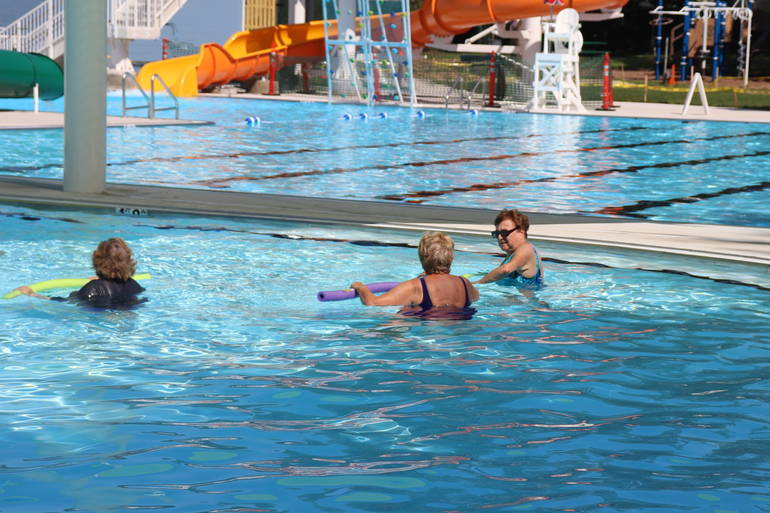 Senior Citizens Have Fun While Keeping Fit at South Plainfield Community Pool Aqua Classes