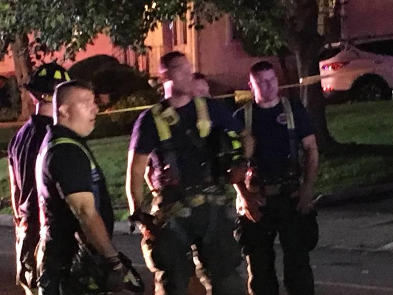 Car Overturns on Boyden Avenue on Tuesday Night
