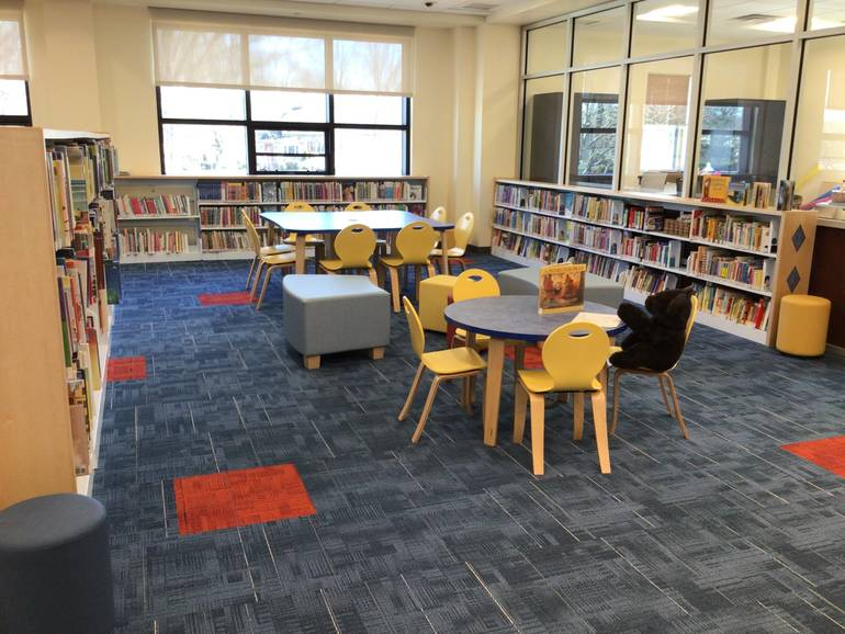 A Look Inside the New Berkeley Heights Public Library