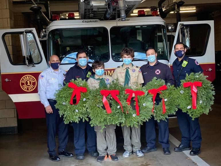 December Wreath Sales Support BSA Troop 22