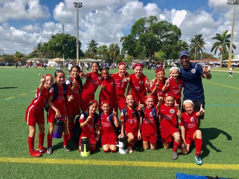 Parkland Girls 2008 White Win Regions and Move onto to State Final Four